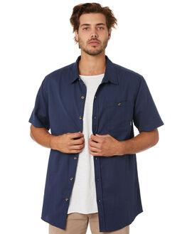 NAVY MENS CLOTHING DEPACTUS SHIRTS - D5202171NAVY