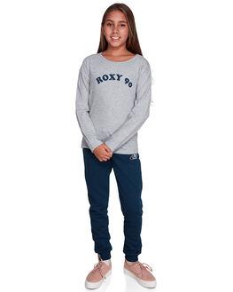 HERITAGE HEATHER KIDS GIRLS ROXY TOPS - ERGZT03406-SGRH