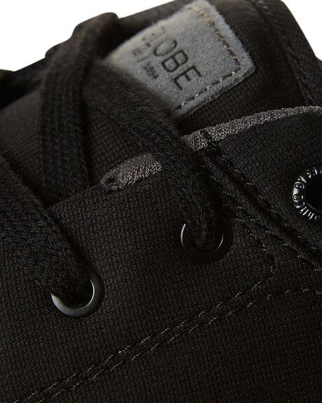 BLACK TOBACCO MENS FOOTWEAR GLOBE SNEAKERS - GBGS-10162