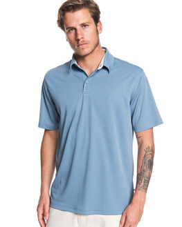 BLUE SHADOW MENS CLOTHING QUIKSILVER SHIRTS - EQMKT03046-BKQ0
