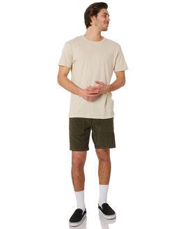 OLIVE MENS CLOTHING RHYTHM SHORTS - OCT19M-WS02-OLI