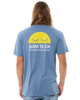 OCEAN MENS CLOTHING ALOHA ZEN TEES - AZ507OCEAN