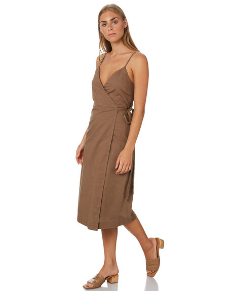 CHOCOLATE OUTLET WOMENS NUDE LUCY DRESSES - NU23731CHOC