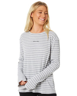GREY WOMENS CLOTHING RPM TEES - 8WWT06AGREY