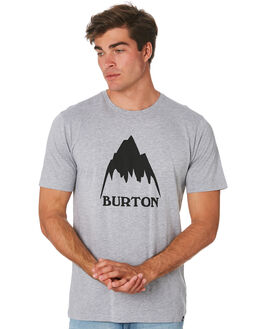 GRAY HEATHER MENS CLOTHING BURTON TEES - 203771020