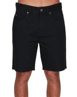 RVCA BLACK MENS CLOTHING RVCA SHORTS - RV-R393312-RVB