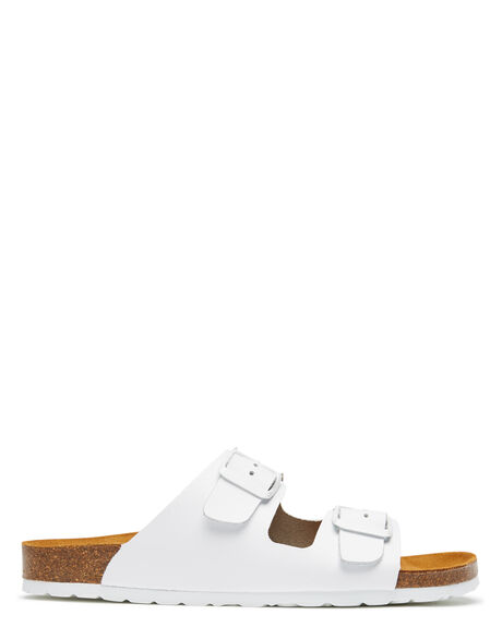 WHITE WOMENS FOOTWEAR SWELL FASHION SANDALS - 100010LWHITE