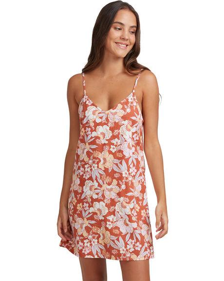 FLORENCE FEELS FLORA WOMENS CLOTHING ROXY DRESSES - URJWD03086-NNY8