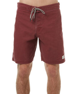 TEMPLE RED MENS CLOTHING KATIN BOARDSHORTS - TRPARS17TERED