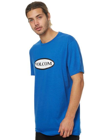 BLUE MENS CLOTHING VOLCOM TEES - A35317G5BLU