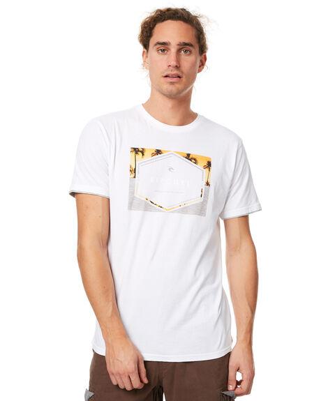 WHITE MENS CLOTHING RIP CURL TEES - CTEGB21000