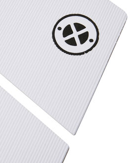 WHITE BOARDSPORTS SURF DREDED TAILPADS - DRPRO-6PCWMIFGWHI