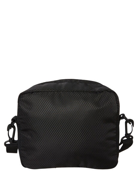 BLACK MENS ACCESSORIES STUSSY BAGS + BACKPACKS - ST793013BLK