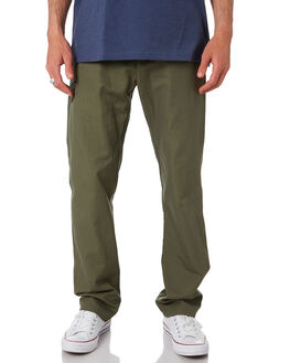 INDUST GREEN CANVAS MENS CLOTHING PATAGONIA PANTS - 56080IGCA