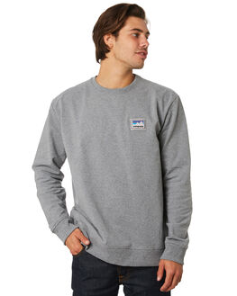 GRAVEL HEATHER MENS CLOTHING PATAGONIA JUMPERS - 39541GLH