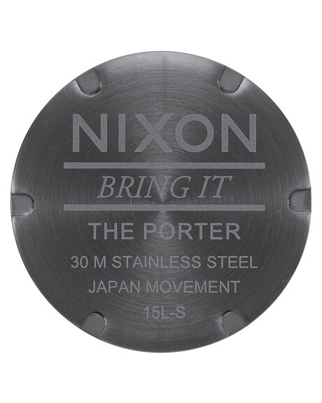 GUNMETAL INDIGO BRN MENS ACCESSORIES NIXON WATCHES - A10582984