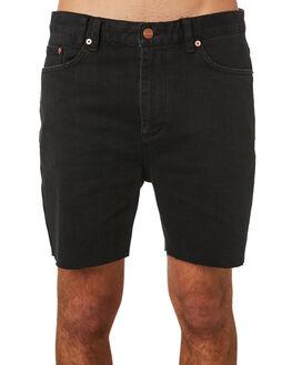 BLACK STAR TRASHED MENS CLOTHING INSIGHT SHORTS - 5000003158BKSTR