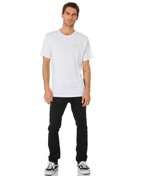 WHITE MENS CLOTHING HURLEY TEES - MTSPPALG100
