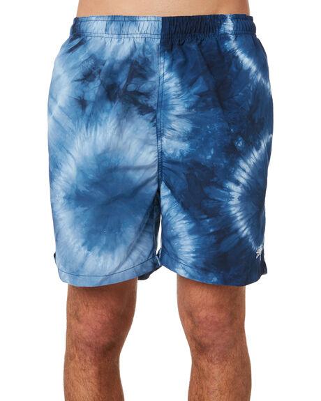 BLUE MENS CLOTHING STUSSY BOARDSHORTS - ST092603BLUE