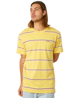 COB YELLOW OUTLET MENS THE CRITICAL SLIDE SOCIETY TEES - TE1887CBYEL