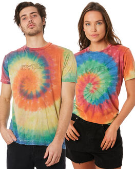 MULTI MENS CLOTHING DYED TEES - DY1001WRTIDYE