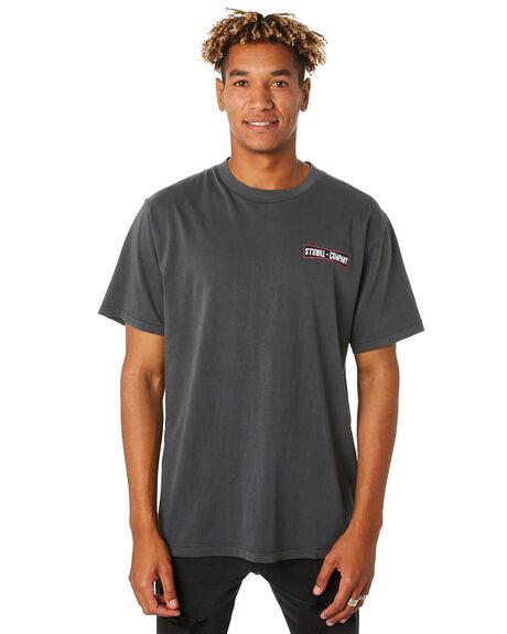 MERCH BLACK MENS CLOTHING THRILLS TEES - TH9-115MBMCBLK