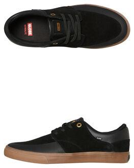 BLACK GUM MENS FOOTWEAR GLOBE SNEAKERS - GBCHASE10023
