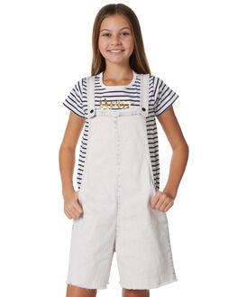 OATMEALE BLEACH KIDS GIRLS MUNSTER KIDS DRESSES + PLAYSUITS - MM181JS05OAT