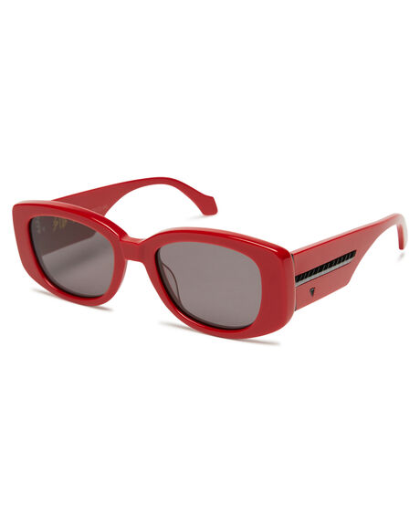 RED MENS ACCESSORIES VALLEY SUNGLASSES - S0497RED
