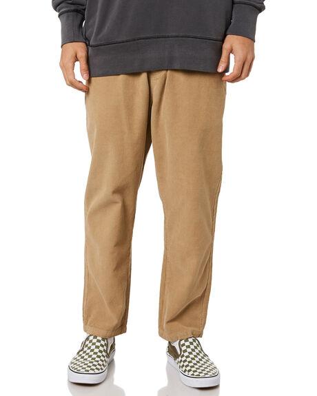 VINTAGE KHAKI MENS CLOTHING THRILLS PANTS - TA21-408FVKHK