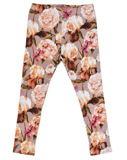 FLORAL KIDS GIRLS KISSED BY RADICOOL PANTS - KR0936FLR