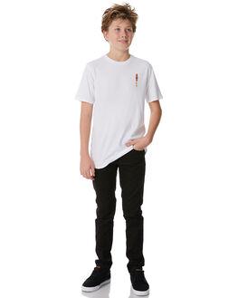 WHITE KIDS BOYS SWELL TEES - S3184007WHITE