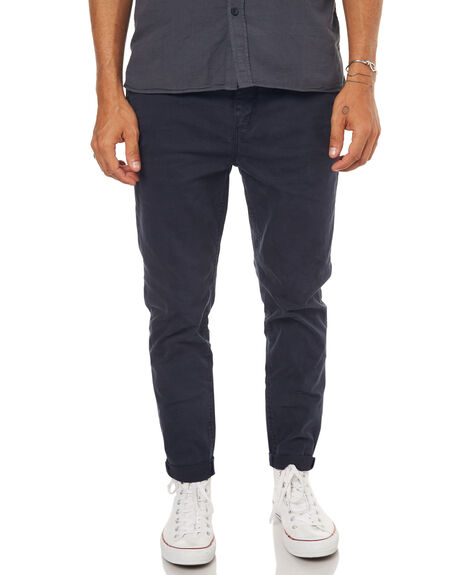 NAVY MENS CLOTHING ZIGGY PANTS - ZM-1233NVY