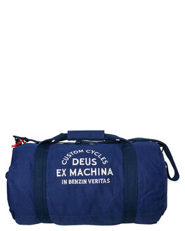 NAVY MENS ACCESSORIES DEUS EX MACHINA BAGS + BACKPACKS - DMS87876NVY