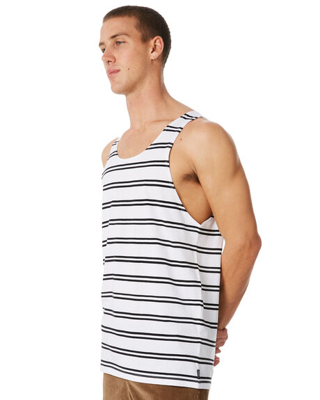 WHITE OUTLET MENS SWELL SINGLETS - S5184275WHITE