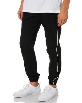 BLACK WHITE MENS CLOTHING ZANEROBE PANTS - 720-VERBLKWHT
