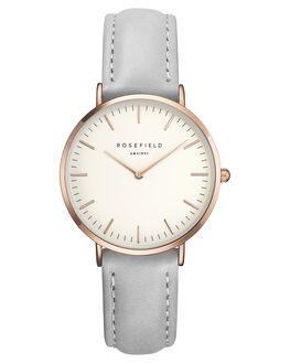 WHITE ROSE GOLD GREY WOMENS ACCESSORIES ROSEFIELD WATCHES - TWGR-T57WHIGR