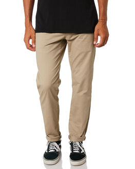 KHAKI MENS CLOTHING SWELL PANTS - S5161191KHA