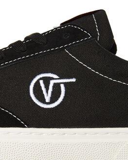 BLACK MENS FOOTWEAR VANS SNEAKERS - VNA3TKKBLKBLK