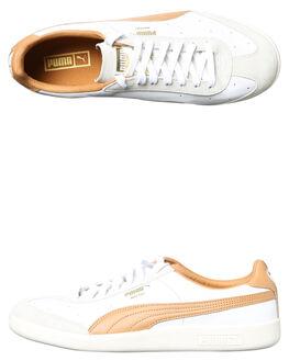 WHITE ALMOND MARSH MENS FOOTWEAR PUMA SNEAKERS - 36380-603