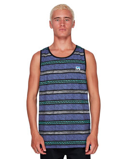 PURPLE MENS CLOTHING BILLABONG SINGLETS - BB-9592508-PUR