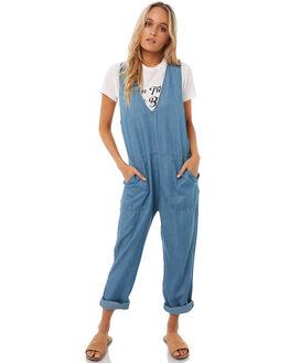 DENIM WOMENS CLOTHING RHYTHM PLAYSUITS + OVERALLS - APR18W-JS03DEN