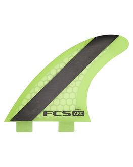 GREEN BOARDSPORTS SURF FCS FINS - 1250-155-00-RGRN