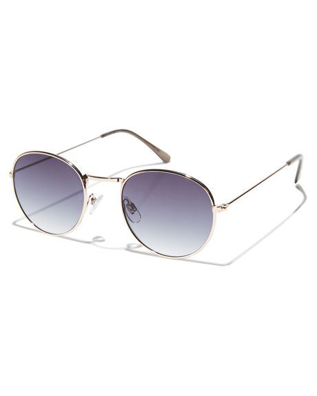 GOLD SMOKE WOMENS ACCESSORIES MINKPINK SUNGLASSES - MNP1808246GLD
