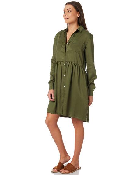 KHAKI WOMENS CLOTHING SWELL DRESSES - S8183449KHAKI