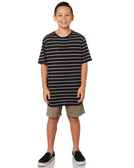 BLACK KIDS BOYS RUSTY TOPS - TTB0614BLK