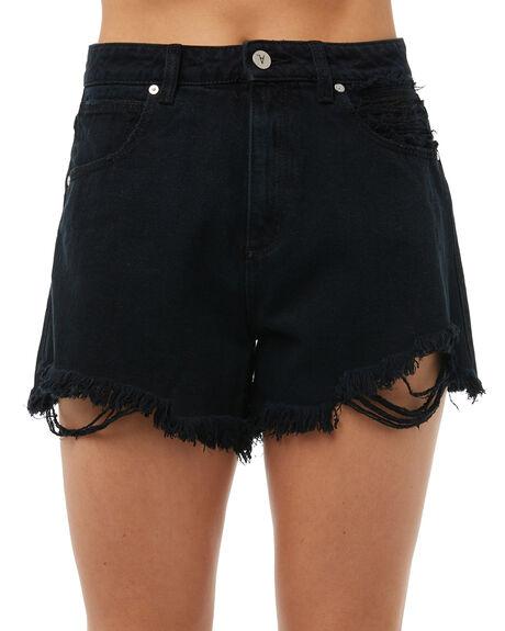 BLACK LUV WOMENS CLOTHING A.BRAND SHORTS - 711093600