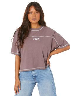 QUAIL WOMENS CLOTHING STUSSY TEES - ST105012_QUAIL
