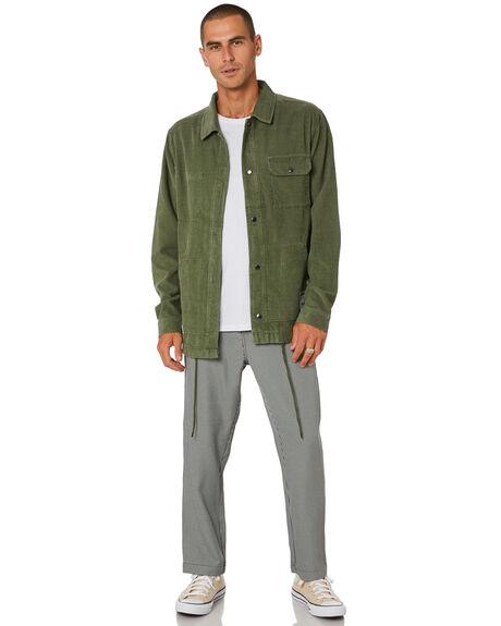WASHED GREEN MENS CLOTHING MISFIT JACKETS - MT001503WSHGR