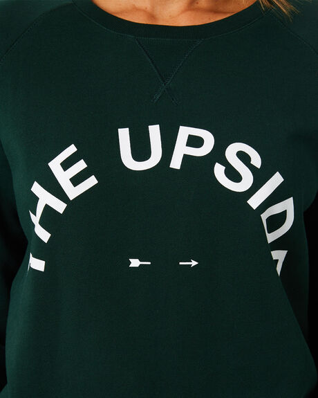 GREEN WOMENS CLOTHING THE UPSIDE JUMPERS - USW121053GRN